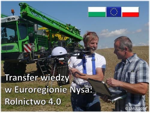 Transfer Wiedzy w Euroregionie Nysa: Rolnictwo 4.0